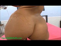 HD bubble butt oil on ass latin