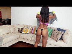 BANGBROS - Big Booty Black Housekeeper Arianna ...