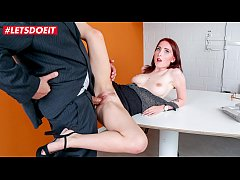 LETSDOEIT - German Teen Secretary Lia Louise Fu...