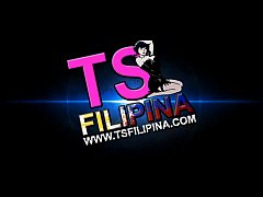 TS Filipina Hot Shemale Playing Straight Guy Cock