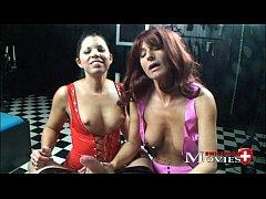 2 Bi-slaves Amanda Jane and Shiva used by the p...