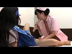 Asian Girl In Police Uniform Licked Fucked With...
