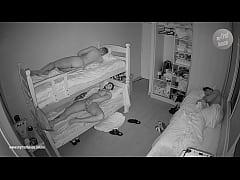 Real hidden camera in bedroom