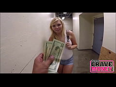 Blonde Teen Needs Money - TeensCraveMoney.com