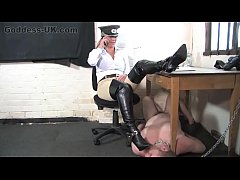 Boot Fetish Femdom At The British Institution