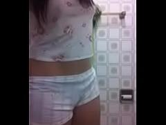 5921168 hot israeli babe strips before shower
