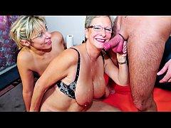 XXX OMAS - German mature blondes sharing stiff ...