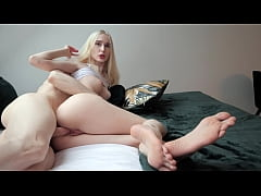 Petite Blonde Teen Likes When You Cum Inside Her!