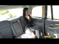 Fake Taxi British Indian Asian with a perfect b...