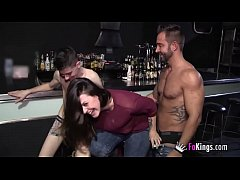 A lesbian babe, a Gay dude and Jordi Enp have a...