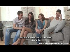 Young Sex Parties - Teen chicks Eva, Carmen Fox...
