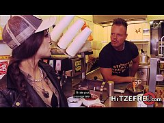 thumb hitzefrei lullu  gun gets herself a real germa lf a real germa lf a real german