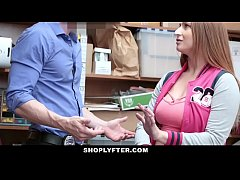 Shoplyfter - Busty Teen Fucks Cop and Mom Watches