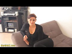 beauty Melinda Ass fuck by small dick