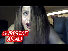 SHE CRIES AND SAYS NO ! SURPRISE ANAL WITH BIG ...