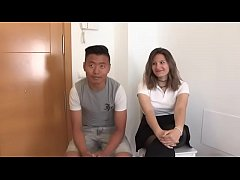 Alexia and her big dicked friend teach about se...