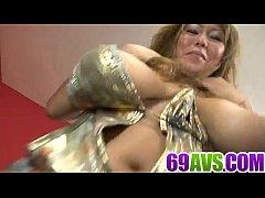 Dazzling porn adventure with big tits Rui Akiyama