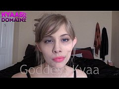 Wet Dreams Brainwashing FEMDOM POV BLONDE JOI