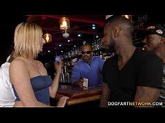 Interracial Anal Gangbang with BBC Slut Kate En...