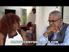 DON'T FUCK MY DAUGHTER - Black Teen Kendall Woo...