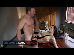 Anal sex at the office with busty brunette