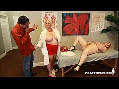 Busty Doctor Samantha 38G Fucks Sexy NIkky Wild...