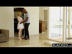 BLACKED  Blonde Babysitter Trillium Fucks her B...