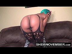 HD Fancy Young Ebony Girl In Sexy Lingerie Fuck...