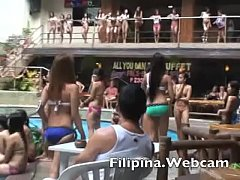Filipina.webcam girls in bikini contest wet t-s...