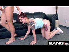 BANG Casting: RedHead Bombshell Amber Ivy fish-...