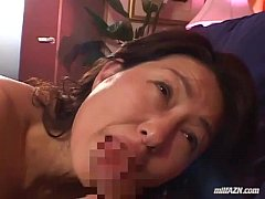 Milf Giving Blowjob For Young Guy Getting Her H...