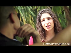 Teenage sub Abella Danger pounded after hitchhi...
