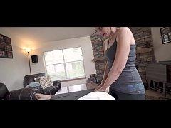 Hot MOM's Massage For Daughter's Big Dick BOYFR...