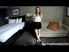 Fucking Glasses - Cute teen Alaina Dawson spyca...