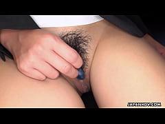 Clip sex Japanese secretary, Hasumi is masturbating, uncensored Japanese secretary, Hasumi is masturbating, uncensored