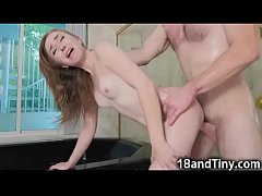 Spoiled Petite Teen Tamed by Cock!