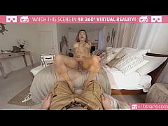 VRBTrans.com Jessy Dubai stroking her hard long...