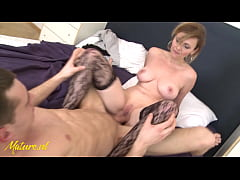 MatureNL - Naughty Milf Invites College-Student Over For a Higher Grade