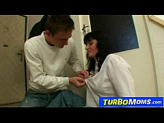 Big natural tits czech housewife Agnes young so...
