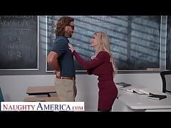 Naughty America - Busty professor, Casca Akasho...