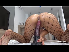 Clip sex Teen Pounded with Massive Horse Cock - Dripping Creampie - Solo CarryLight