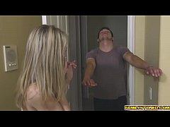 Allie Rae caught by step bro slurping his huge ...