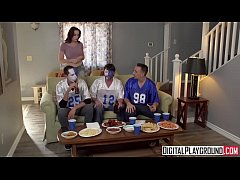 Trophy Wife Touchdown Chanel Preston cheats on ...