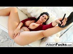 Alison Tyler masturbating for you