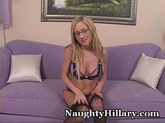 Naughty Hillary Orgasm - Full