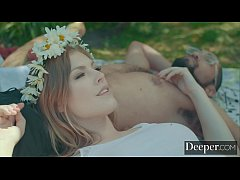 Deeper. Hippie Chick Ella Nova Summertime Session