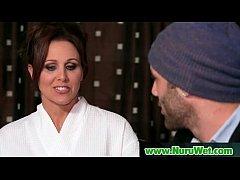 Masseuse offers Anal Sex during a Nuru Massage 25