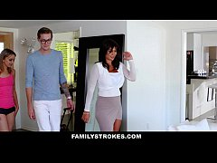 FamilyStrokes - College Bro Cums Home To Horny ...