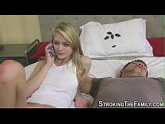Teen stepsister rammed
