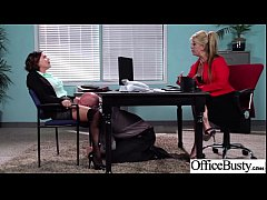 (krissy lynn) Busty Slut Office Girl Like Hardc...